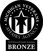 Bronze Veteran Friendly Employer logo
