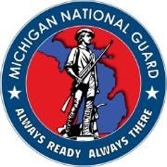 Michigan National Guard Badge