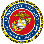 United States Marine Badge