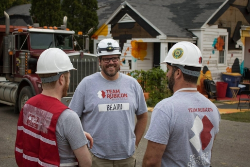 Team Rubicon volunteers, courtesy of HFH of Kent County